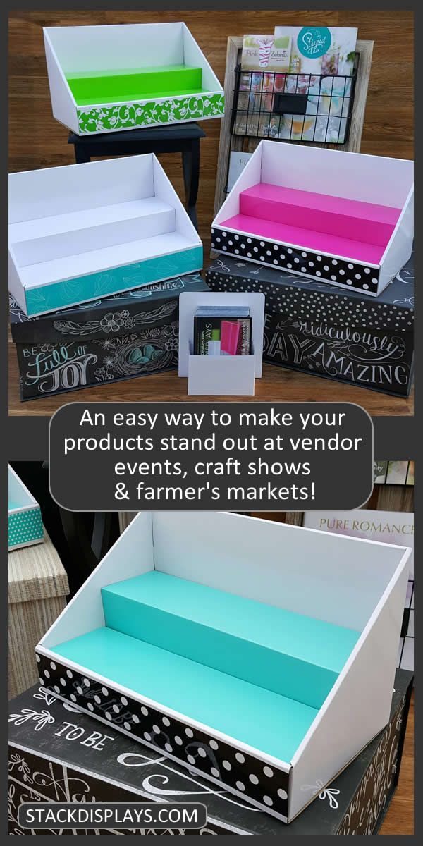 there really is an easier way to set up your products on your vendor table at