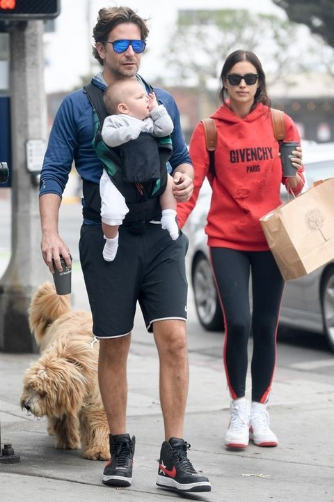 5f7130c0e5 Bradley Cooper and Irina Shayk Just Had Another Precious Baby Outing ...