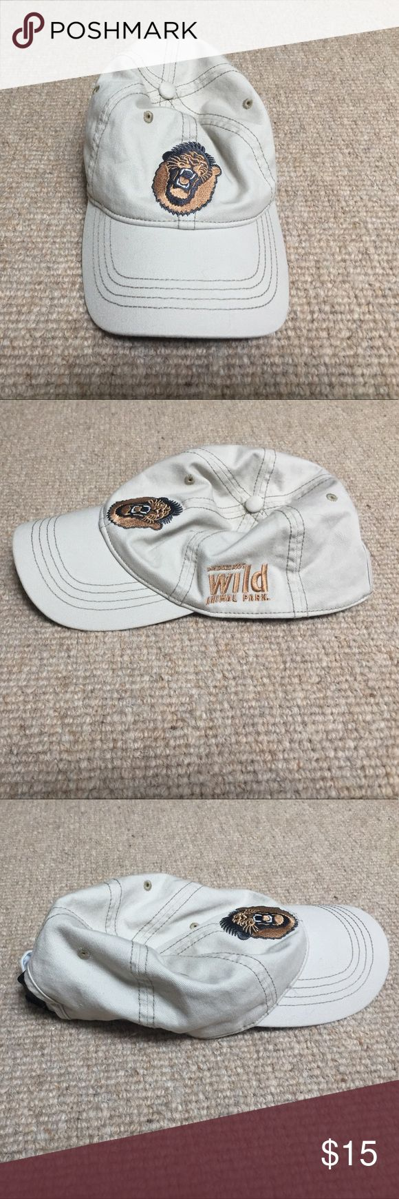 San Diego Zoo's Wild Animal Park Hat San Diego Zoo's Wild Animal Park Hat. Never used. Lion roaring on the front. Offers welcome. Accessories Hats