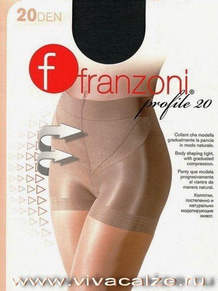 PROFILE 20 Тонкие прозрачные колготки с моделирующим эффектом.