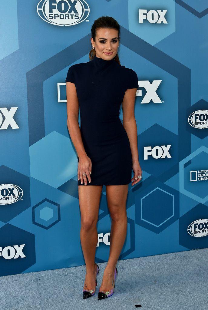 PHOTOS Lea Michele à 2016 FOX dès le départ à New York - Photos Lea Michele