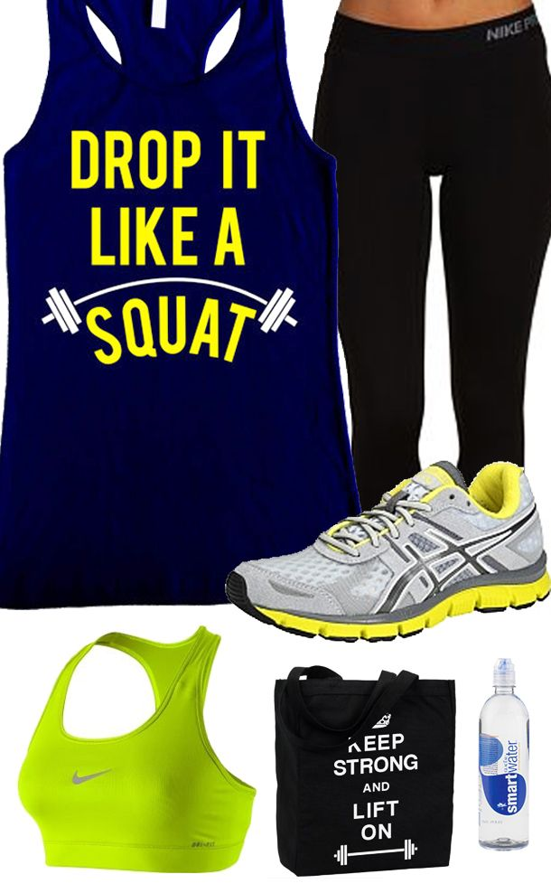 You Work Hard to Look great, your #Workout Clothes should look good too! Cool #GymGear board mix featuring a Drop It Like A Squat Navy Blue Racerback Tank Top by #NobullWomanApparel, $24.99 on Etsy. Click here to buy https://www.etsy.com/listing/156716835/drop-it-like-a-squat-workout-tank?ref=shop_home_active_2&ga_search_query=drop%2Bit