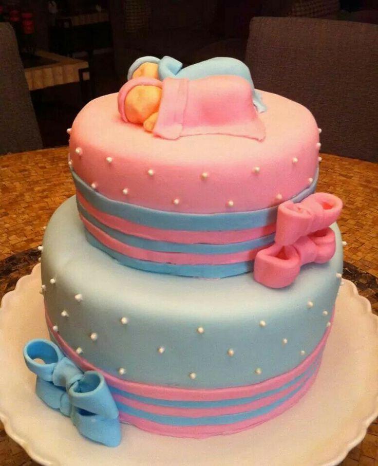 Torta pink end blue