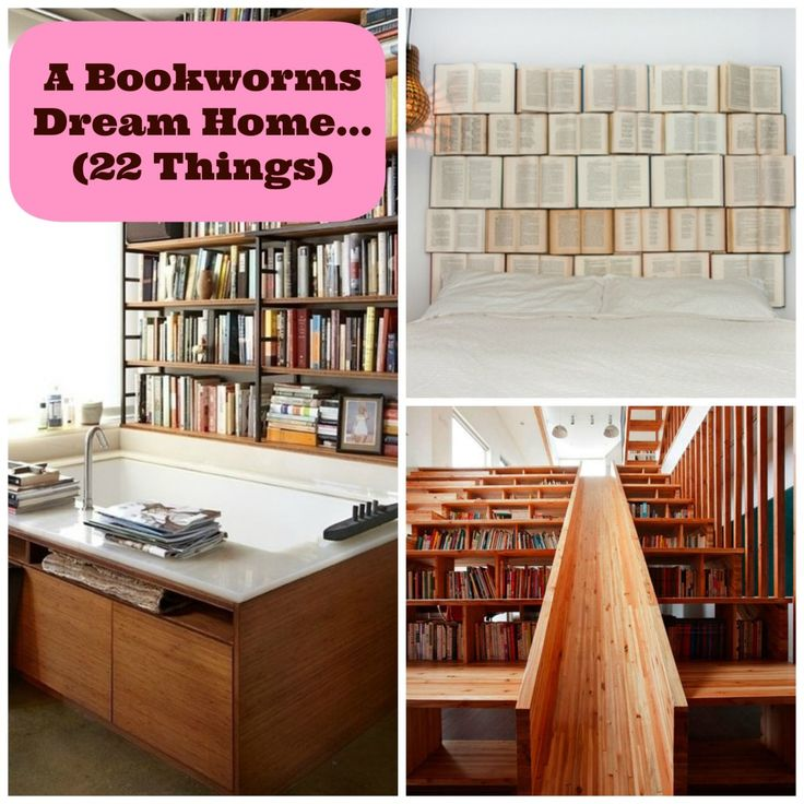 (DIY Inspiration) A Bookworm?s Dream Home - 22 Must Haves