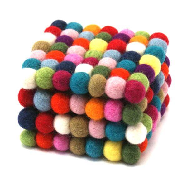 Tabletop trivet & coasters gift pack