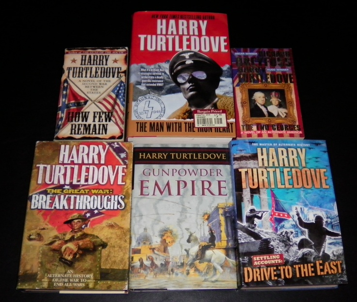 Harry Turtledove Lot 4HB+2PB Man With the Iron Heart 1st Ed. VG WE SHIP IN BOXES | eBay $8.99