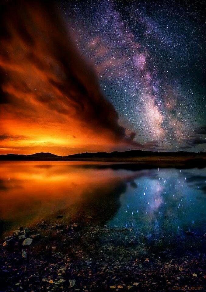 картинки космоса заката светолюбивый