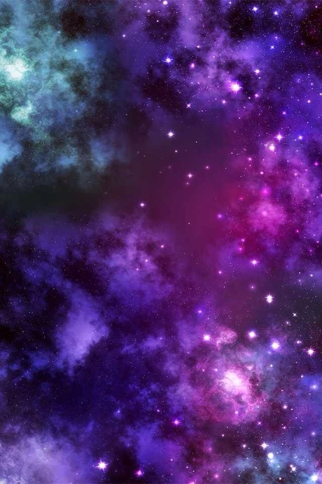 gallery for purple galaxy wallpaper iphone