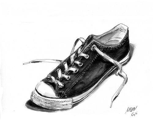Contour Line Drawing Shoes Lesson Plan : 8 best shoe drawing project images on pinterest