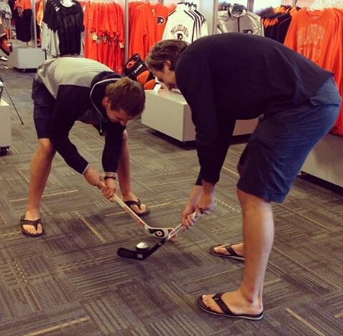 Brayden and Luke Schenn #Philadelphia #Flyers