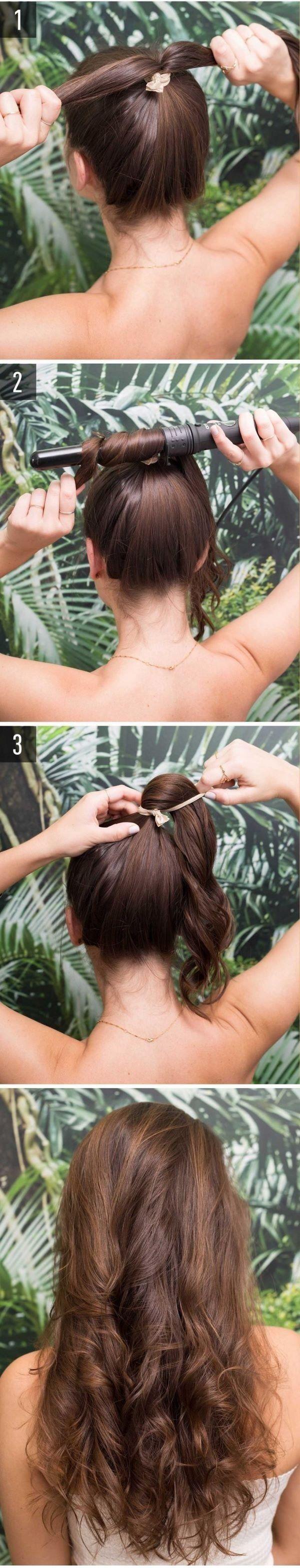 peinados sueltos sencillos