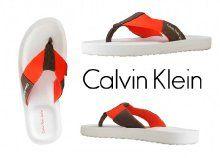 Sportosan elegáns, lábujjközi Calvin Klein papucs, férfiak számára, hat méretben