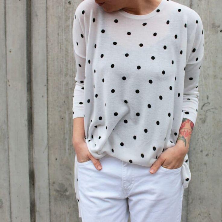 #tombabe #tomboy #blouse #white #dots #streetfashion #streetwear #urban #fashion #women
