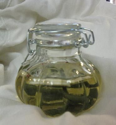 Not crazy about using urine in your witch bottle? Use wine or vinegar instead!
