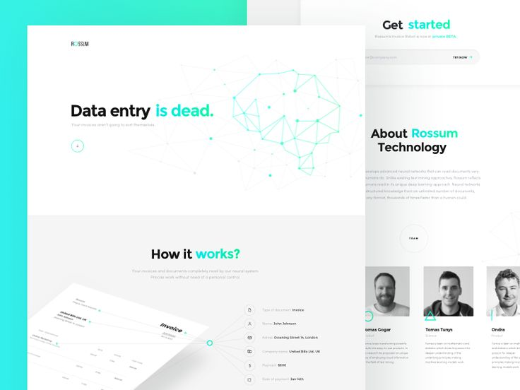 Artificial Intelligence Microsite
