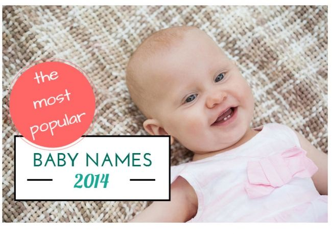 Top girls' names of 2014: the half-year results! | BabyCentre Blog