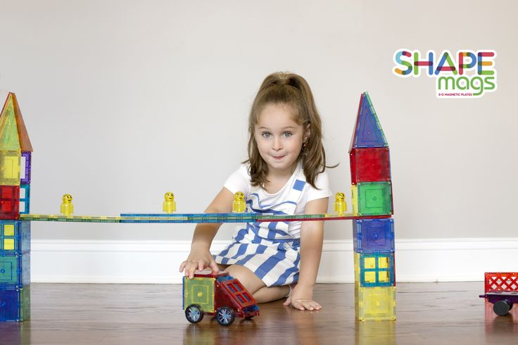 Shape Mags develops:  -Patterning -Shape recognition -Motor skills -creativity -Teach children problem-solving skills. Let's play, and let the fun begin! https://www.toys2discover.com/collections/shape-mags?page=2