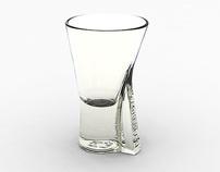 LIQUEUR GLASS FOR BECHEROVKA by Martin Žampach, via Behance