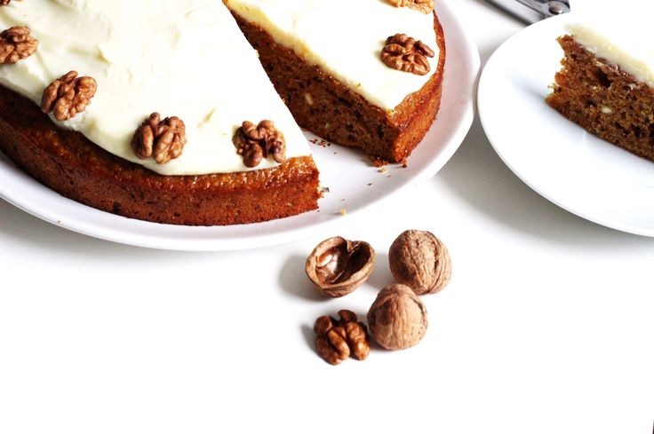 Food styling - Homemade carrot cake