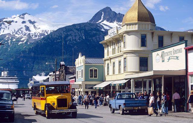 Skagway, Alaska in Skagway, AK