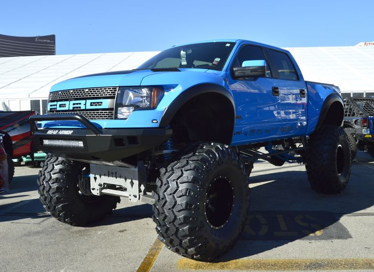 2014 SEMA Show Truck lifted ford raptor