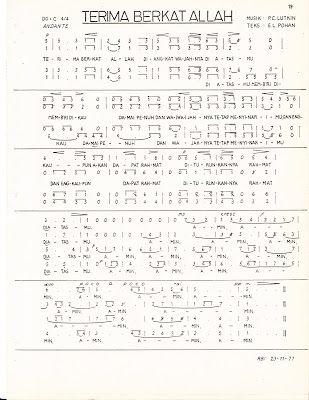 Kumpulan Lagu Paduan Suara Gereja (Hidayat Maruta): TERIMA BERKAT ALLAH, P. C. Lutkin, Teks: E. L. Pohan