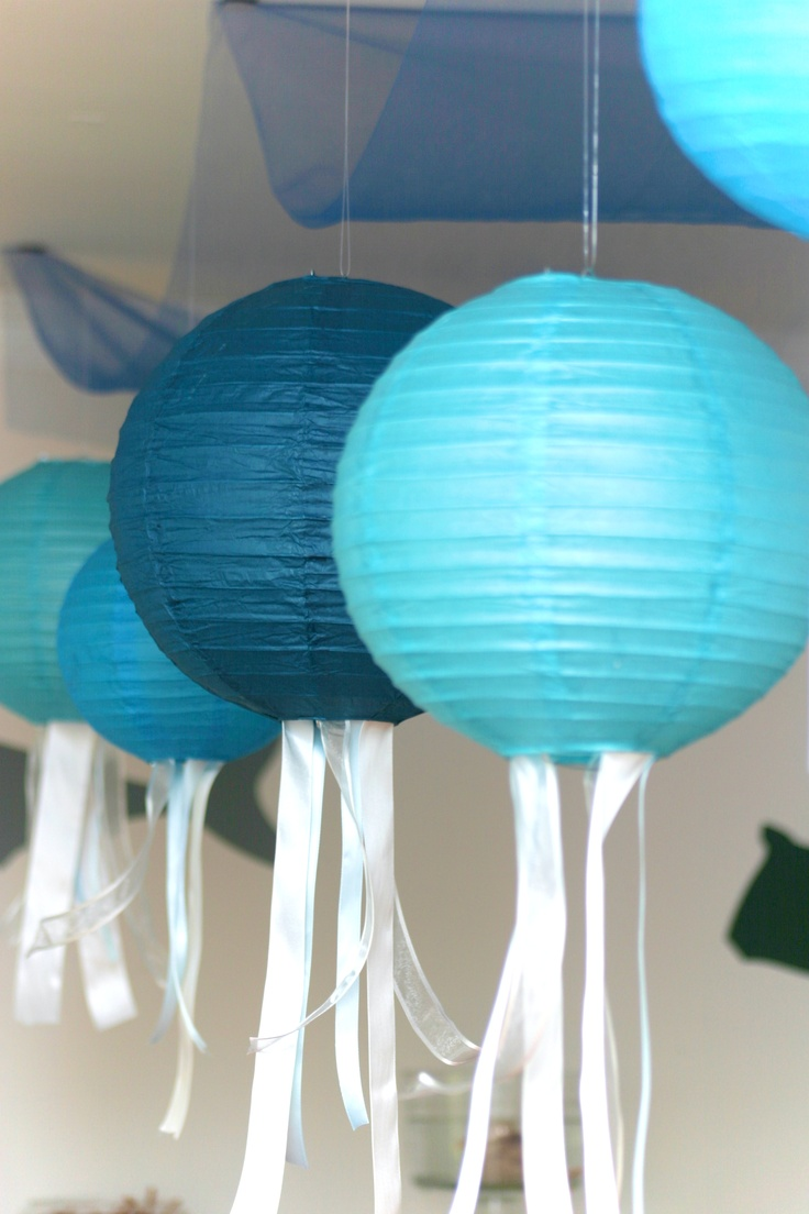 56 best o fish ally party images on pinterest for Fish paper lanterns