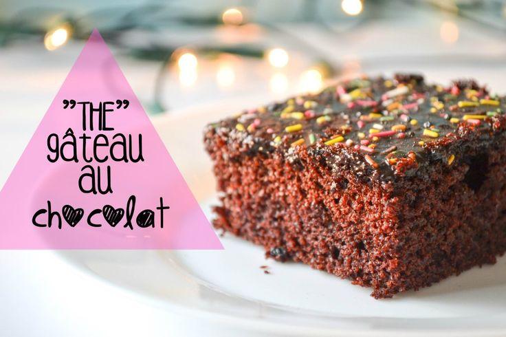 Youhou, c'est bientôt le week-end! Et pour fêter ça, on se retrouve aujourd'hui avec une super recette de gâteau au chocolat! C'est un vrai classique (comme ces biscuits!) que vous pourrez ressortir aux anniversaires/repas de famille/dîner entre amis, et qui étonnera tout le monde lorsque vous expliquerez que vous n'avez pas utilisé d'oeufs!