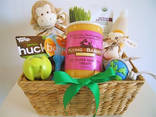 Organic Gift Baskets for Pampered Pets