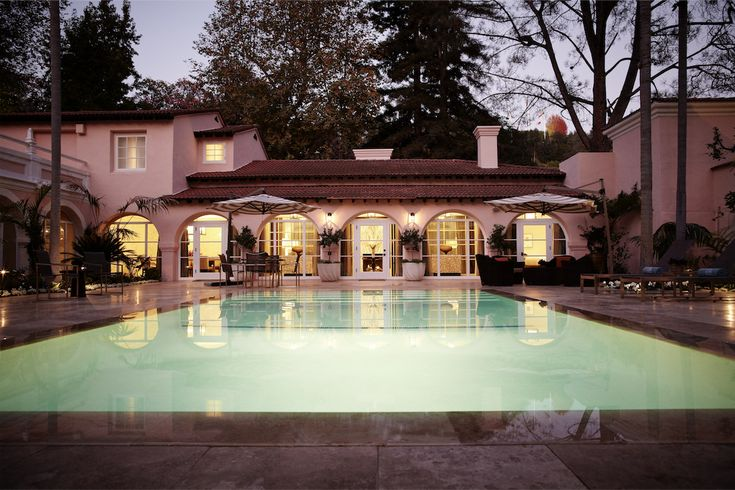 Hotel Bel-Air Los Angeles, California, USA #elitecollection #top100hotels
