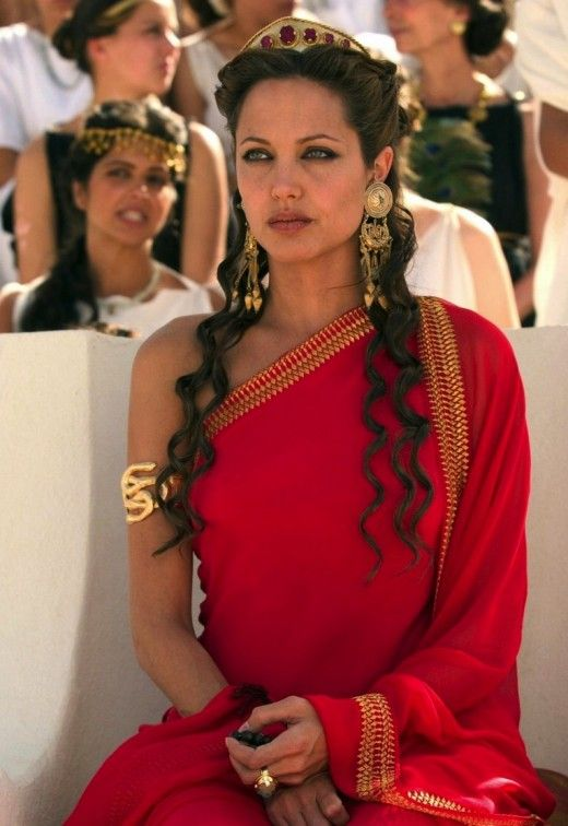 Angelina Jolie as Olympias