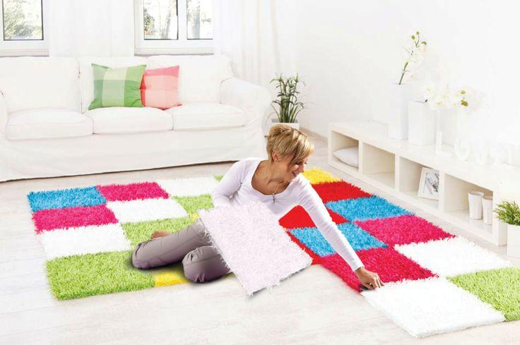 immer wieder neu zusammen setzen - Teppich Al Mano
