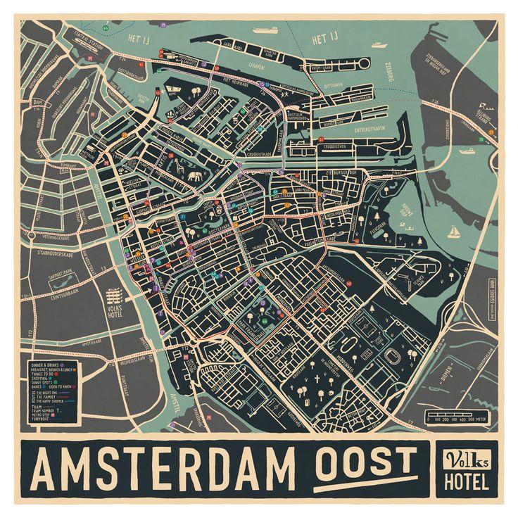 Egidius Bink – Volkshotel – Maps #map #amsterdam