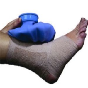 Sprained ankles are annoying. If you can prop it up, ice it down, and stay off it for a while it should heal pretty quickly. If you're like me and have a life you need to deal with that's not always possible. http://thezumbamommy.blogspot.com/2013/08/the-sprained-ankle.html