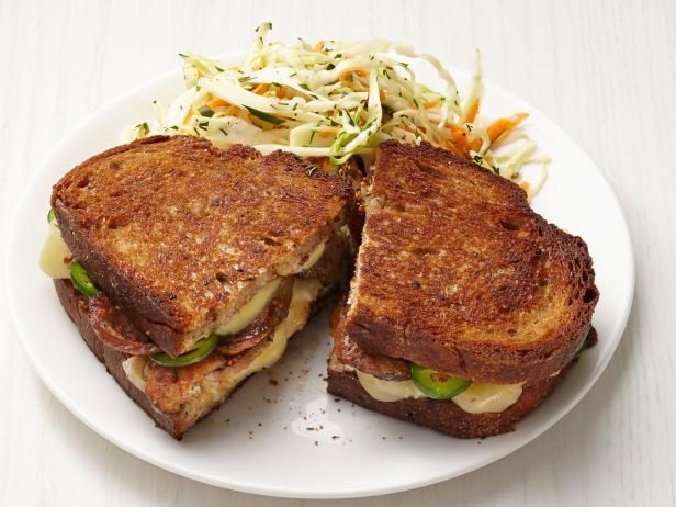 Get Food Network Kitchen's Kielbasa Grilled Cheese Recipe from Food Network