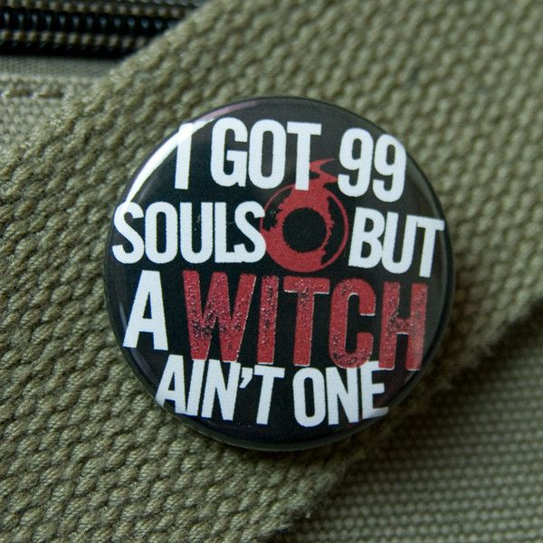 Soul Eater parody button - I got 99 souls pinback badge ($1.50) ❤ liked on Polyvore featuring jewelry, brooches, buttons, accessories, pins, random, accessories pins, pin brooch, cat jewelry and pin jewelry