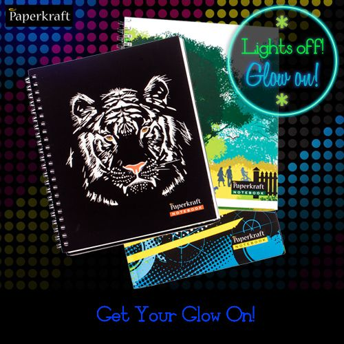 Notebooks that Glow-in-the-dark