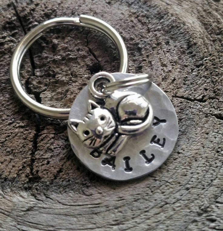 Personalized Pet Tag /  Small Cat Tag / Pet Tag / Pet ID Tag / Personalized Pet ID Tag / Pet Accessories by FurryFriendsID on Etsy https://www.etsy.com/listing/397970731/personalized-pet-tag-small-cat-tag-pet