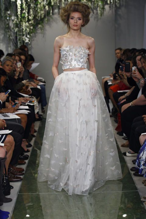 Theia. See all the best bridal gowns on the spring 2016 runways.
