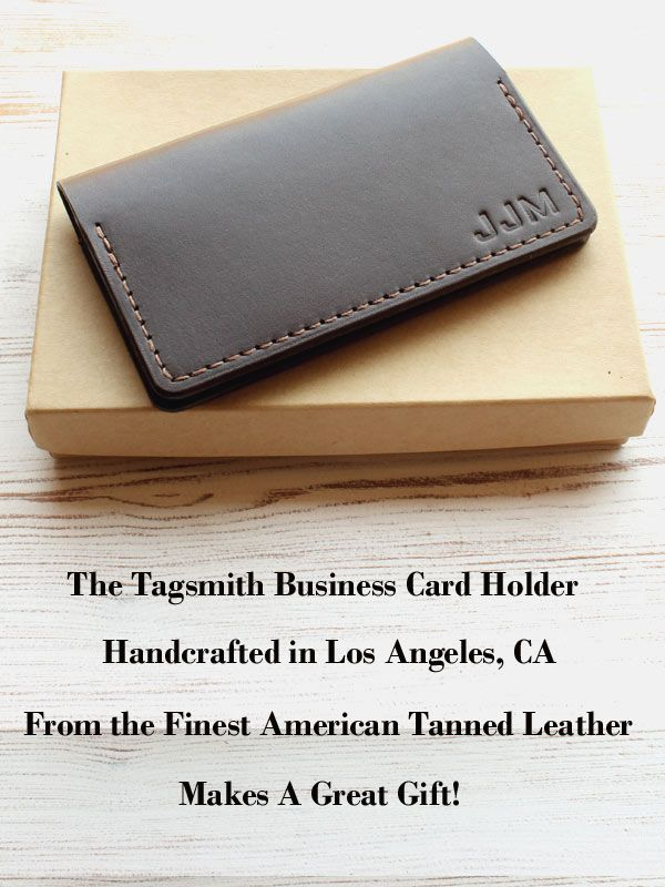 Business Card Holder Leather Business Card Case Personalized Etsy Leather Business Cards Leather Business Card Holder Business Card Holders