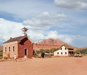 Grafton - Utah Ghost Town. Outside of Zion National Park.