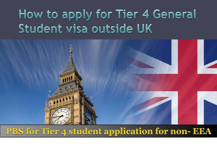 Tier 4 General Student Visa UK