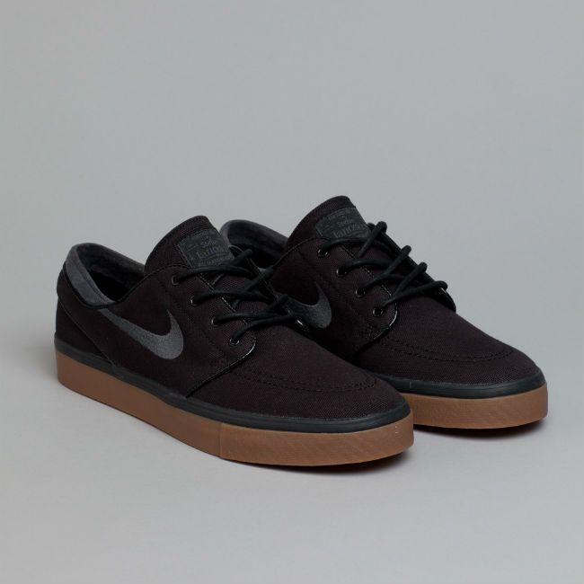 Nike SB Stefan Janoski Black / Anthracite Medium Brown