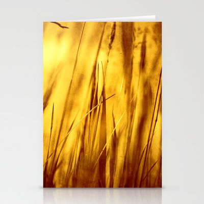 Grass Stationery Cards by Fine2art - $12.00