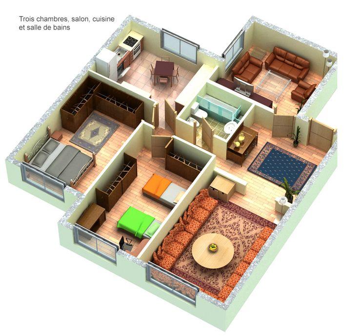 Wilaya Center Tétouan appartement 01