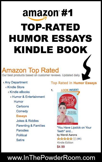 book of humorous essays Books shelved as humorous-essays: bossypants by tina fey, let's explore diabetes with owls by david sedaris, when you are engulfed in flames by david sed.
