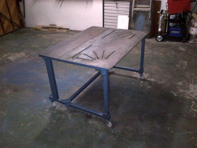 My Folding Welding Table Weldingtable Pinterest Bench