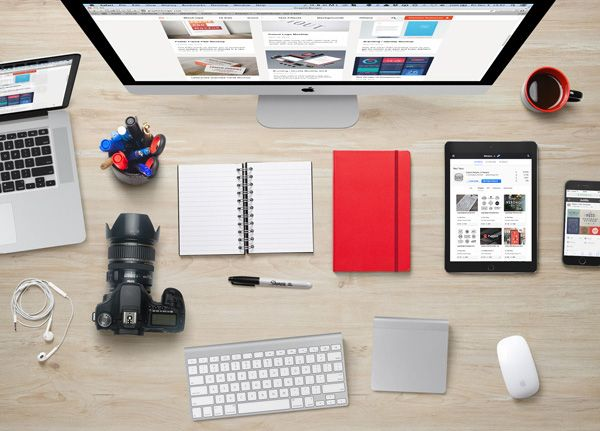 Free Designer Desk Essentials