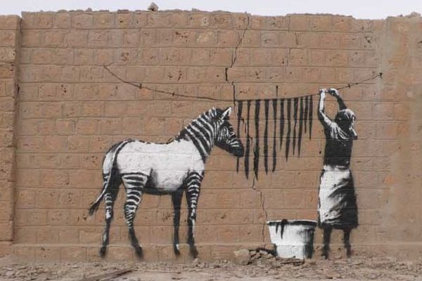 polarity in bansky But as a true androgyny, able to transcend polarity to find true essence, true  vision, she must apply it to a larger situation and embrace the male.