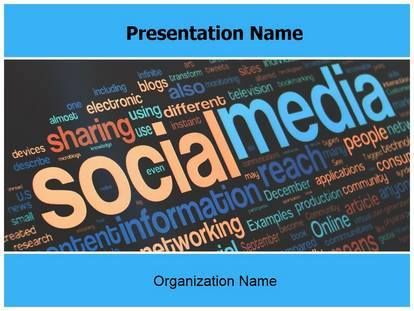 23 best free powerpoint presentation templates images on pinterest check editabletemplatess sample social media free powerpoint template toneelgroepblik Gallery